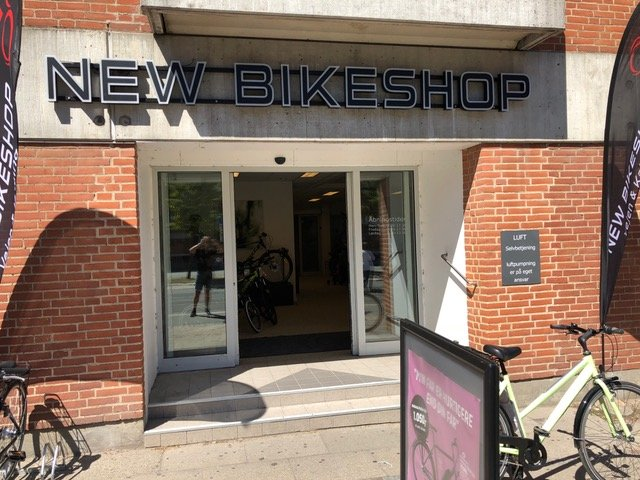 New Bikeshop - cykelhandler i Kolding og Vejen